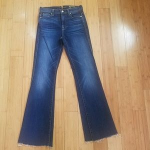 7 FOR ALL MANKIND HI WAIST VTG  BOOT CUT JEANS 26